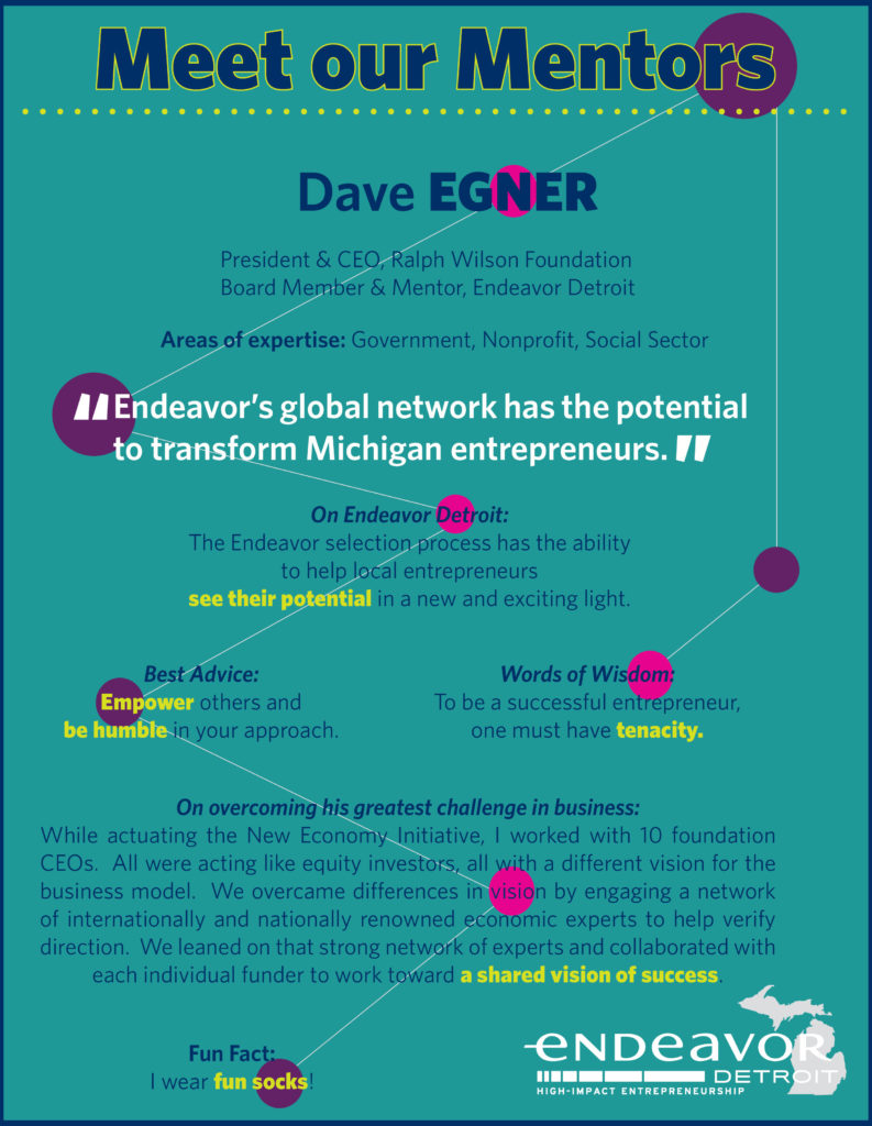 Endeavor Detroit Meet Our Mentors Dave Egner
